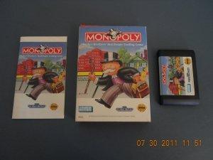 Monopoly - Sega Genesis