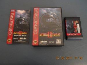 Mortal Kombat II - Sega Genesis