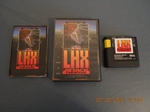 LHX Attack Chopper - Sega Genesis - complete