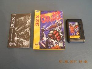 Cosmic Carnage - Sega Genesis 32X