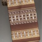 Giorgio Bissoni neck tie gold/silver/brown