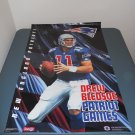 NFL HOF Drew Bledsoe poster 23x35 Patriot Games