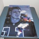 NFL HOF Drew Bledsoe poster 23x35 Power Portraits OOP