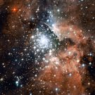 Wall size art 8' x 9' image NGC 3603 star cluster