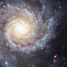 Wall size art 8' x 9' image Messier m74 NGC 628 spiral galaxy galaxy