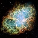 Wall size art 8&#39; x 9&#39; image Messier M1 NGC 1952 Crab Nebula