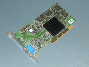 ATI PN 109-63100-10 Rage 128Pro Video Card 16MB AGP Dell
