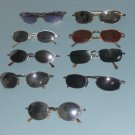 lot of 9 used sunglasses