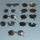 lot of 9 used sunglasses