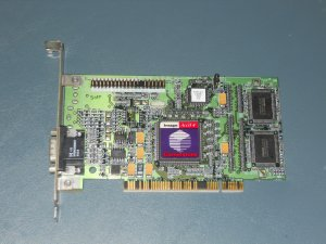 Cornerstone Image Accel 4 Pci Video Card Ati 3d pn 109-41900-10