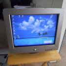 "E-machines flat screen CRT 17"" Monitor"