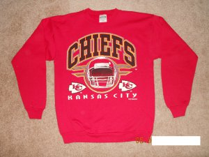 Kansas City Chiefs Sweatshirt Size L red