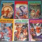 Star Wars Junior Jedi Knights chapter book books lot series 1-6 paperback (a)