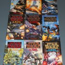 Star Wars X-Wing books book novel novels lot series 9 paperbacks (a)