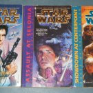 Star Wars The Corellian Trilogy books book novel novels lot series 3 paperbacks (a)
