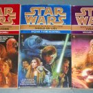 Star Wars The Black Fleet Crisis Trilogy books book novel novels lot series 3 paperbacks (a)