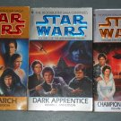 Star Wars The Jedi Academy Trilogy books book novel novels lot series 3 paperbacks (a)