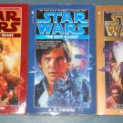 Star Wars Han Solo Trilogy books book novel novels lot series 3 paperbacks (a)