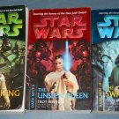 Star Wars Dark Nest Trilogy books book novel novels lot series 3 paperbacks (a)