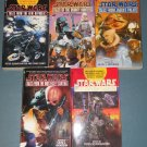Star Wars Tales books book novel novels lot 5 five paperbacks (a)