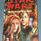 Star Wars Survivor's Quest book novel 1st edition paperback by Timothy Zahn (a)