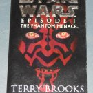 Star Wars Episode I: The Phantom Menace book novel 1st edition paperback by Terry Brooks (a)