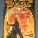 Star Wars I, Jedi book novel 1st edition paperback by Michael A. Stackpole (a)