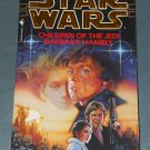 Star Wars Children of the Jedi book novel 1st edition paperback by Barbara Hambly (a)