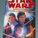 Star Wars Darksaber novel 1st edition paperback by Kevin J. Anderson (a)