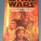 Star Wars Planet of Twilight book novel 1st edition paperback by Barbara Hambly (a)