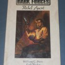 Star Wars Dark Forces Rebel Agent book novel 1st Edition hardcover (a)