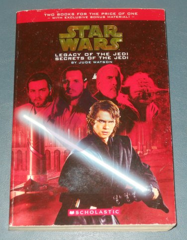 Star Wars Legacy & Secrets of the Jedi 2-in-1 paperback Jude Watson (a)