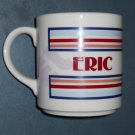 personalized coffee mug ERIC Mt. Clemens Pottery