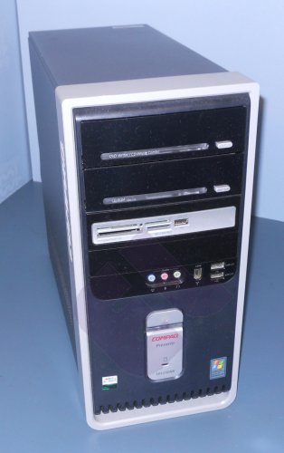 Compaq Presario sr1130nx desktop tower with Windows XP and Office
