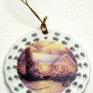 Thomas Kinkade Christmas Cottage Ornament