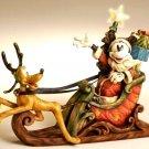 Disney Mickey & Pluto Sleigh - LIGHTED