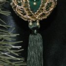 """Emerald City"" HANDMADE ORNAMENT HANDMADE IN THE USA"