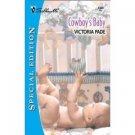 Cowboy'S Baby ( Special Edition) by Victoria Pade  - Paperback Book