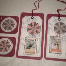ASIAN INSPIRED SCRAPBOOKING/GIFT TAGS