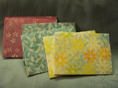 6 Mini Envelopes