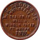 IN290E-4a - W.H.Brooks, Fort Wayne Wallpaper Dealer ***Price Reduced***