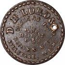 D. H. Lord - MI450I-1a - Very Rare Obverse Die