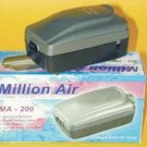 Million Air Ma - 200 Air Pump With Variable Flow Control Knob