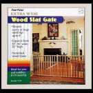 Wood Slat Gate 53 - 96