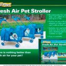 Fresh Air Pet Stroller Blue