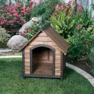 Prec Small Country Lodge Dog House 28x30x30