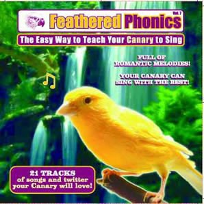 Bird Training Cd - Teach Your Canary To Sing