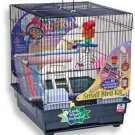 Keet Cage Accessory  Play Kit 14x16x17