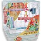 Lg Bird Cage Accessory  Play Kit 18x18x22