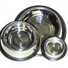Non-tip 1 qt. Stainless Steel Bowl